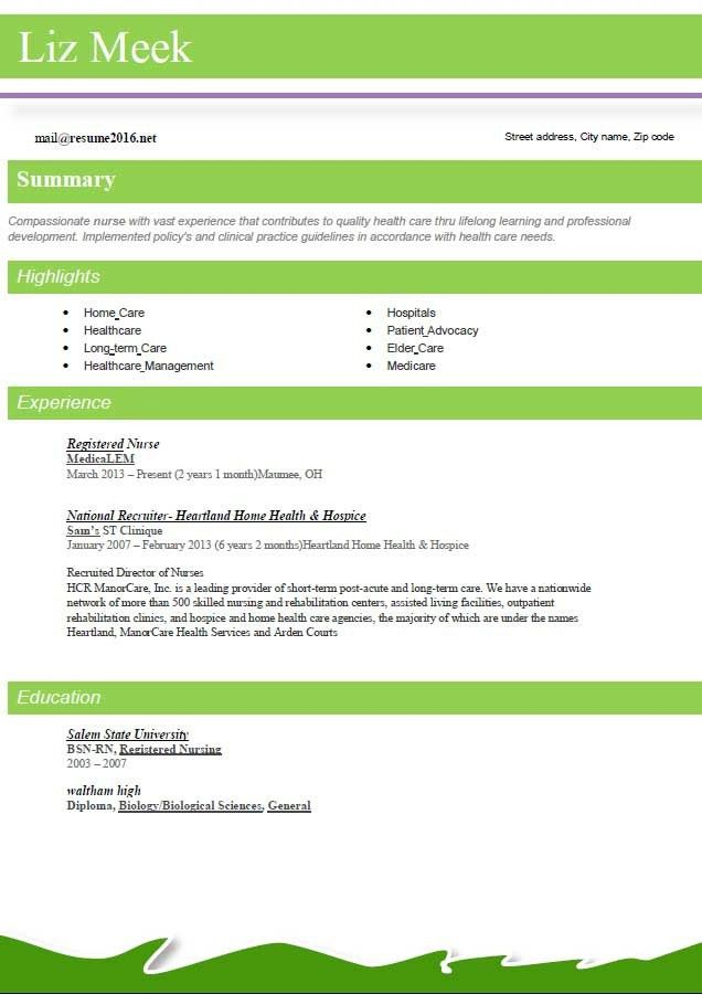 Updated Resume Format 2016 Updated Structure Sample Resume ...