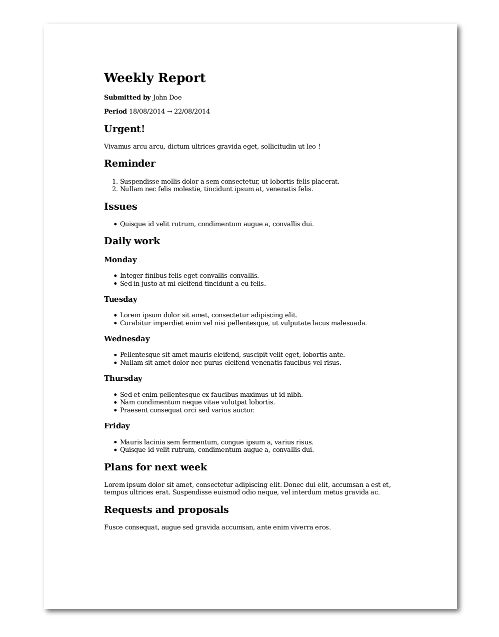 GitHub - LucasVandroux/template-weekly-report: Template for a ...