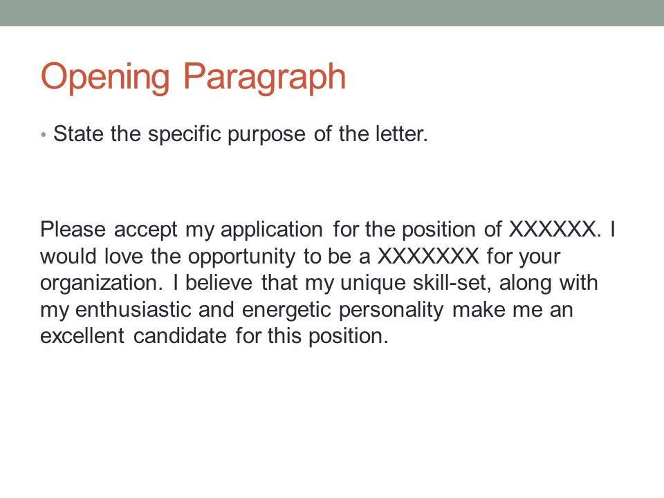 COVER LETTER How to design a cover letter. What is a Cover Letter ...
