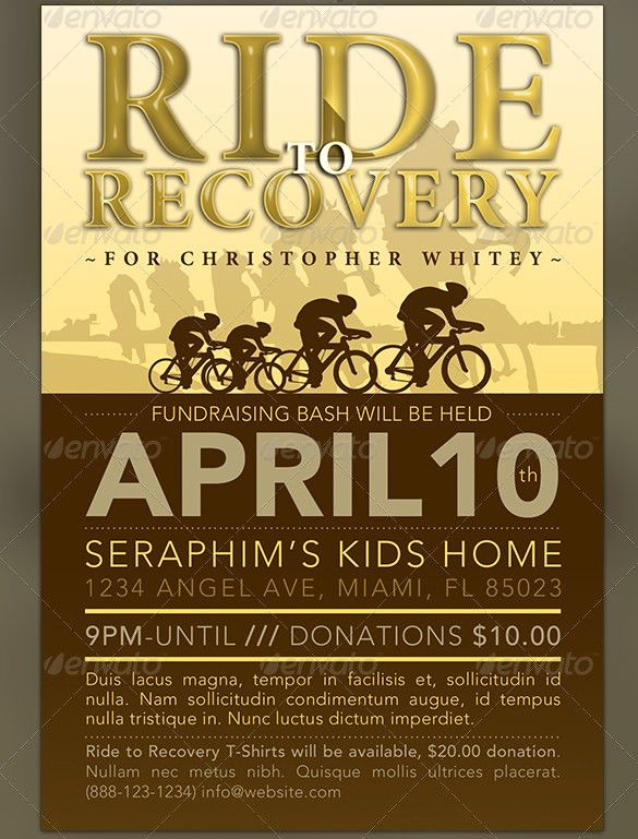 Fundraiser Flyer Template – 35+ Free PSD, EPS, AI Format Download ...