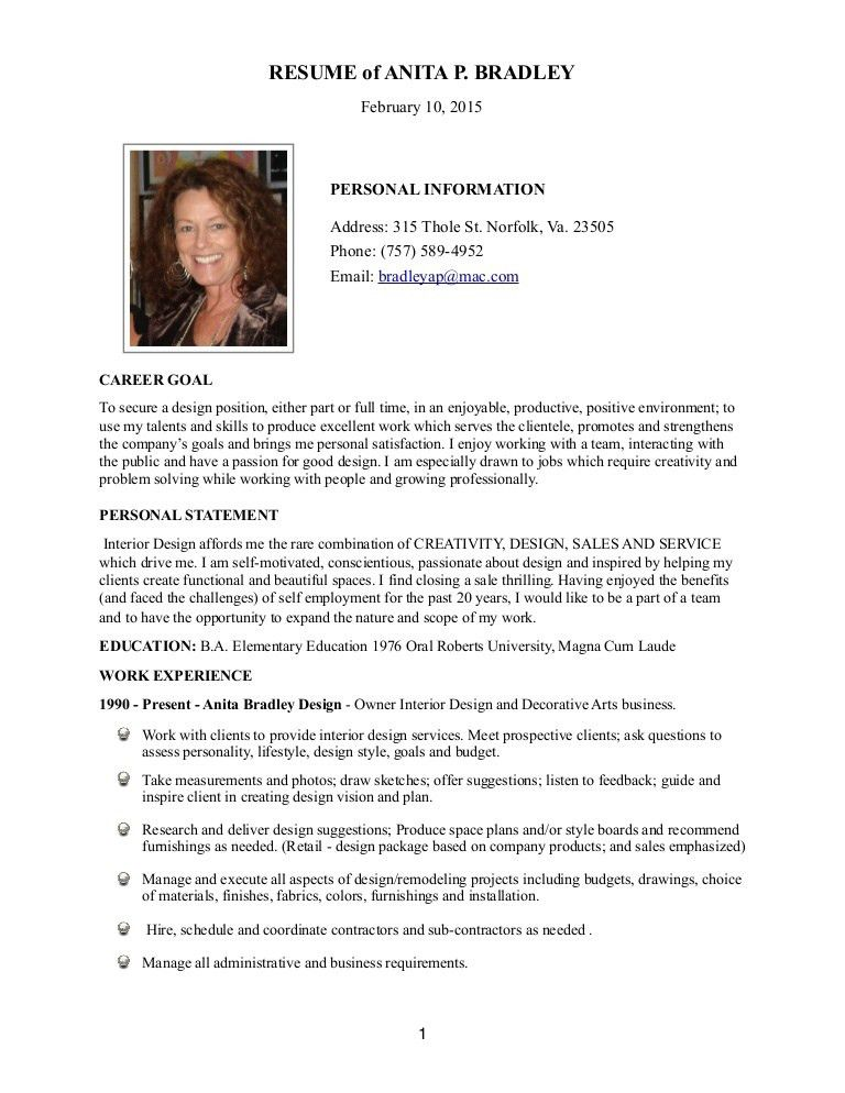 resume bio examples sample executive biography executive