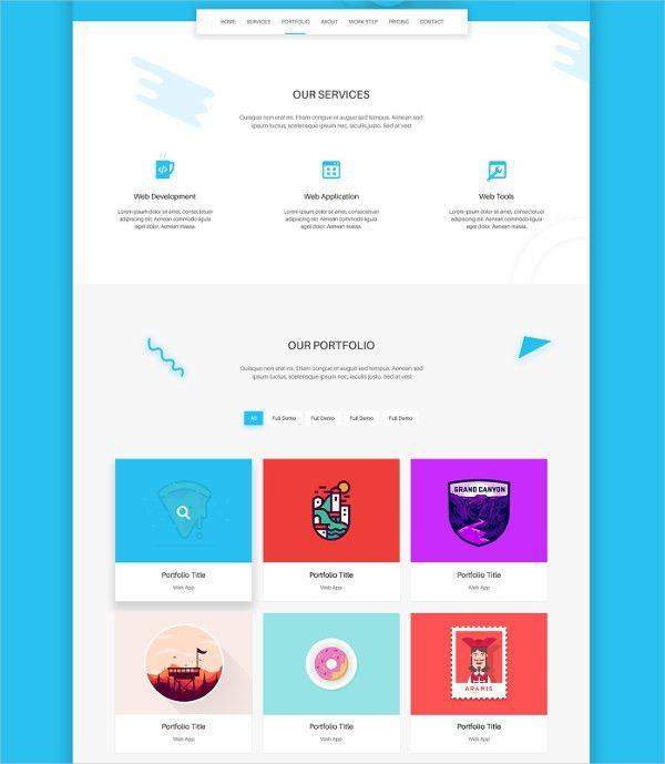 22+ Best Landing Page Template Designs   Free & Premium Templates