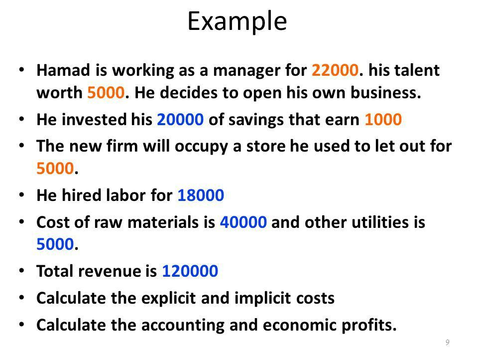 The Costs of Production 1 22 C H A P T E R Costs exist because ...