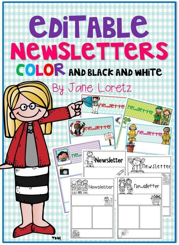 103 best Classroom Newsletter images on Pinterest | Classroom ...