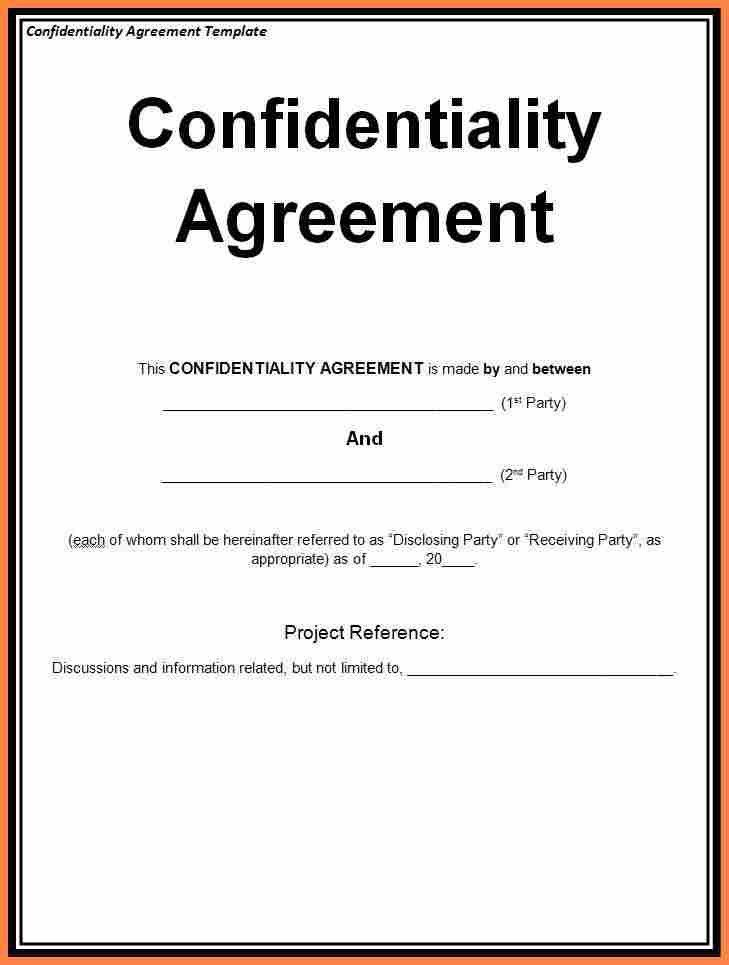 8+ unilateral non disclosure agreement template | Purchase ...