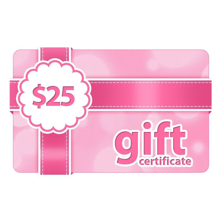 $25 Gift Certificate | Online Gift Card - Outerbeauty Cosmetics