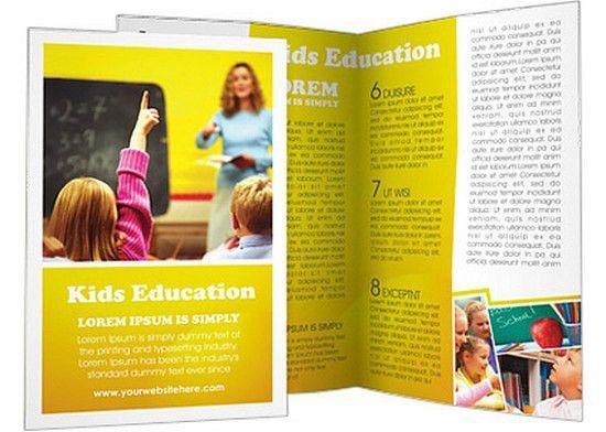 15+ Education Brochure Templates Free & Premium - Web Creative All