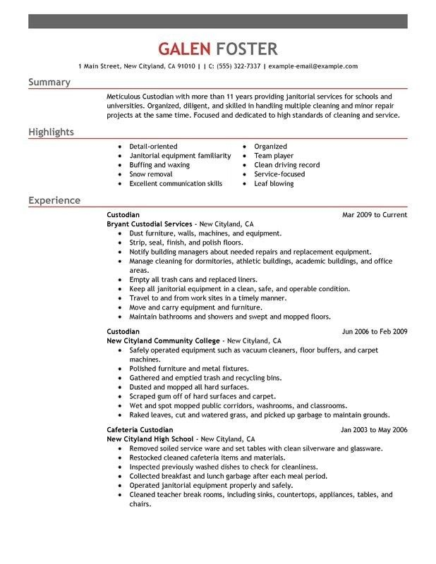 Maintenance Resume Template. Maintenance Manager Resume, Example ...