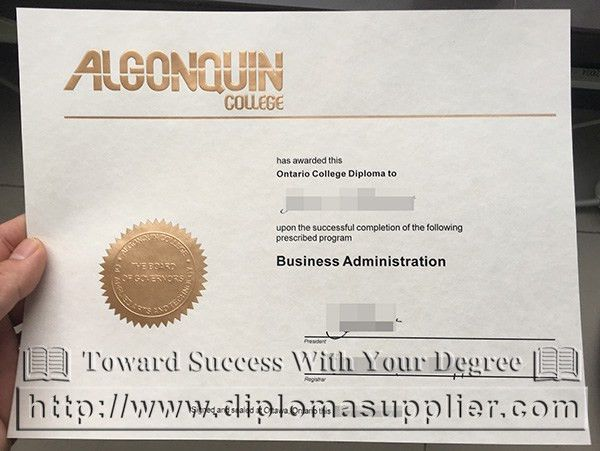 fake degree from Algonquin College, where to buy it - Fake ...
