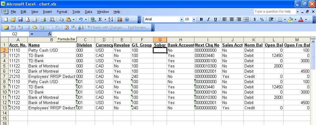 2) How to Import General Ledger Chart of Account - Sage ...