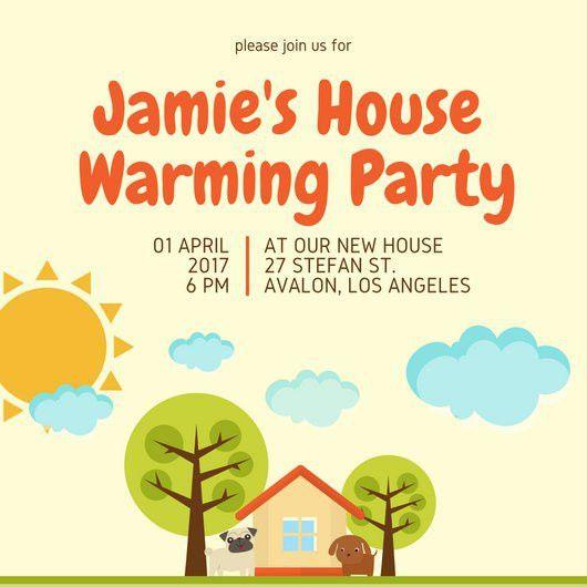 Housewarming Invitation Templates - Canva