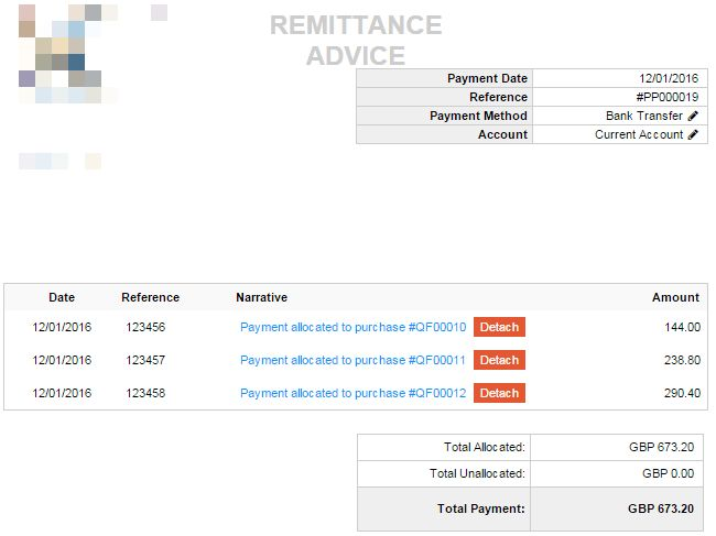 Show invoice date on Supplier Payment / Remittance Advice - Under ...