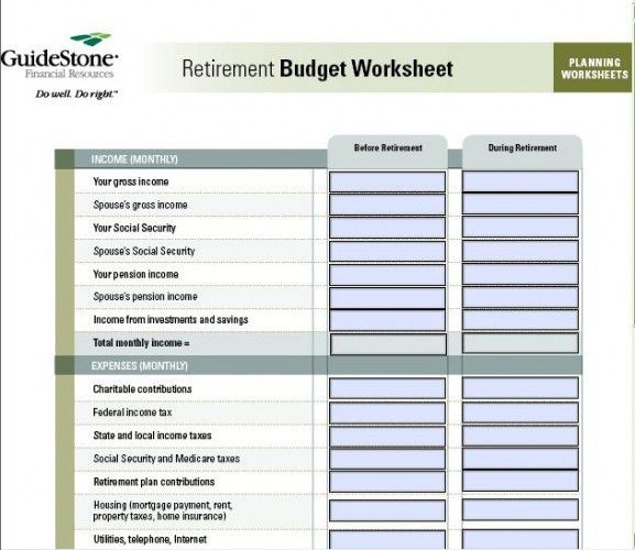 Printables. Complete Budget Worksheet. Whelper Worksheets Printables
