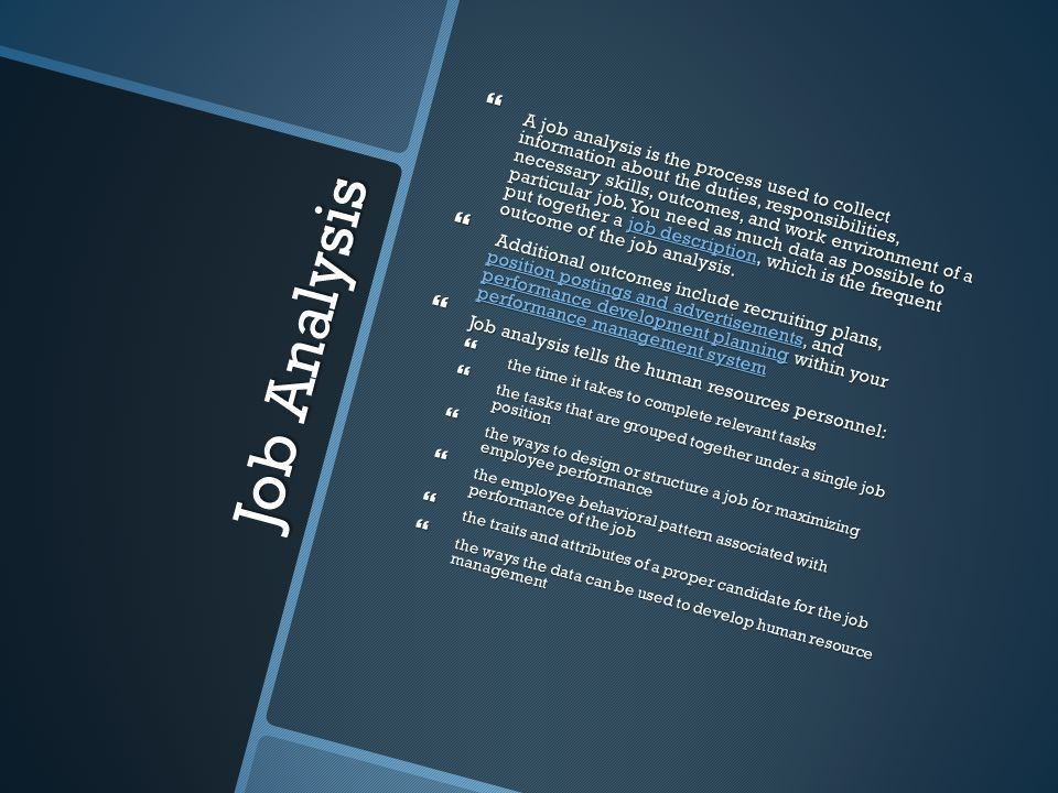 3.06 Develop Job Descriptions - ppt video online download