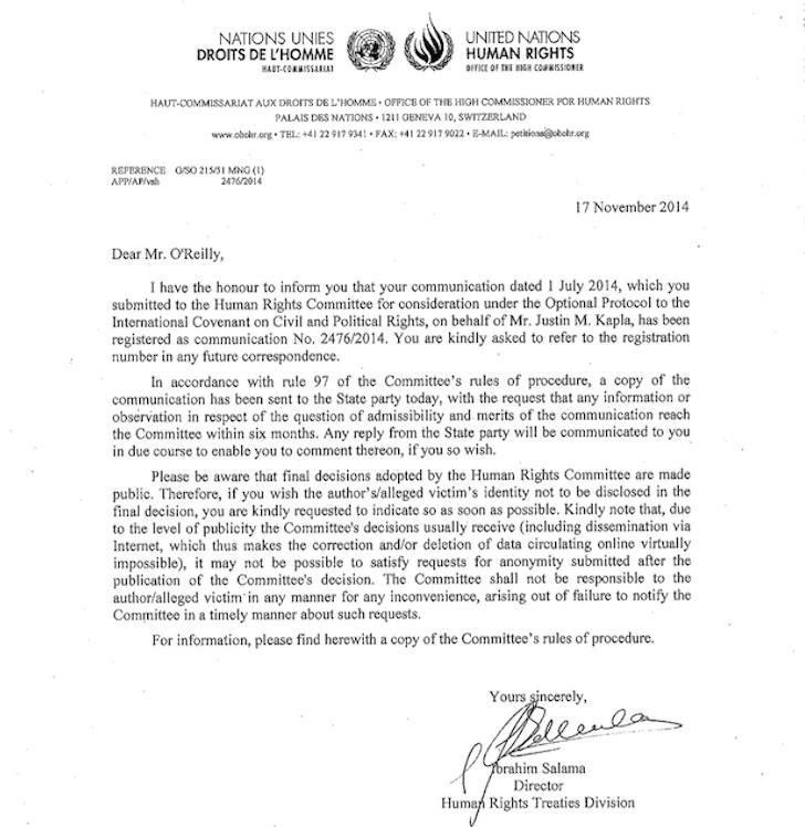 United Nations Nurse Cover Letter
