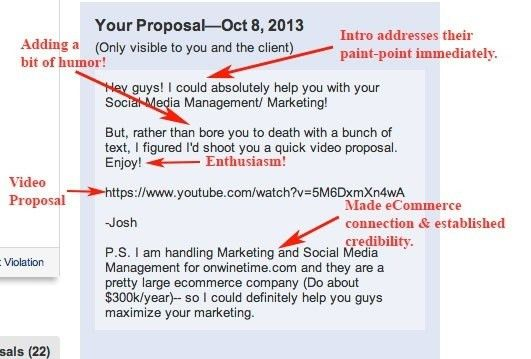 3 answers: How to write a good proposal on a freelancing site to ...