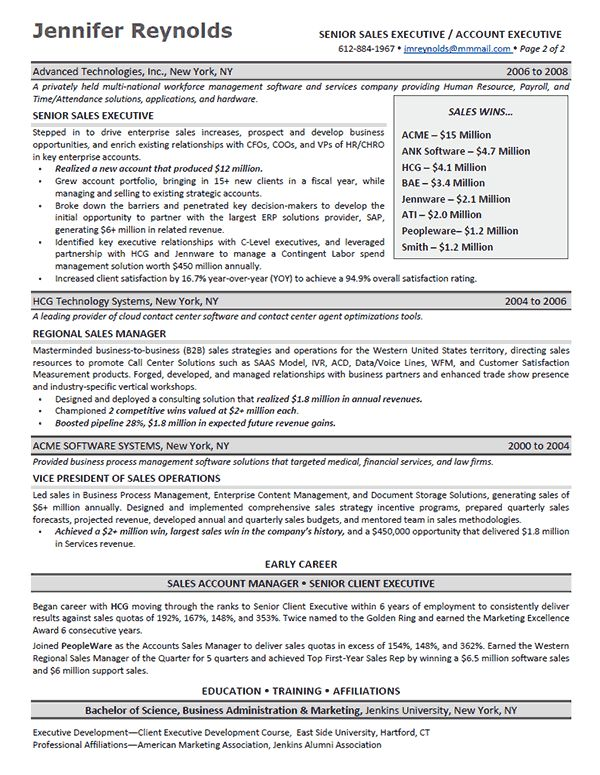 sales executive resume. sales executive resume over 10000 cv and ...