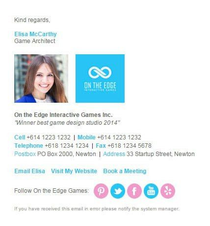 Browser Extension - Email Signatures | Email Signature Rescue