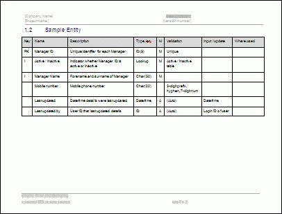 System Design Document Template - Technical Writing Tips