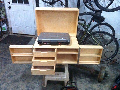 Küchenkisten Bausätze Willi Wood u2014 Neat Boy Scout Patrol Box - küchen selber bauen