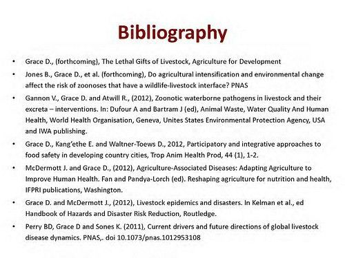 Sample research paper with bibliography - sunsetsailstours.com