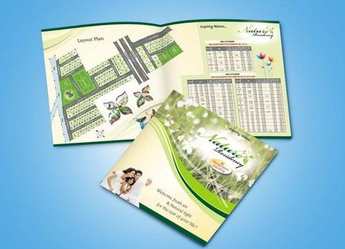 Real Estate Brochure Printing Services in Ramdaspeth, Nagpur, R.k. ...