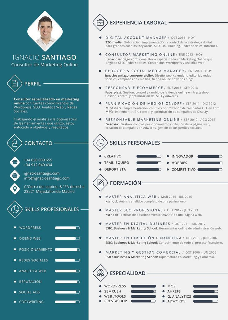 Best 25+ Modelos de curriculum vitae ideas on Pinterest | Modelos ...