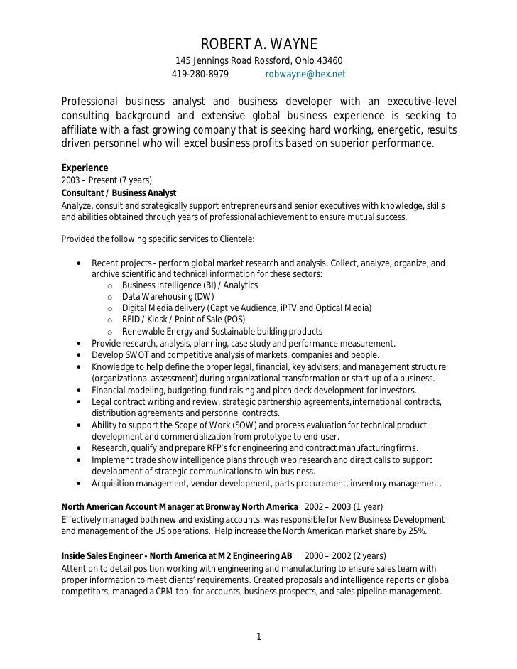 sample business analyst resume business analyst resume samples