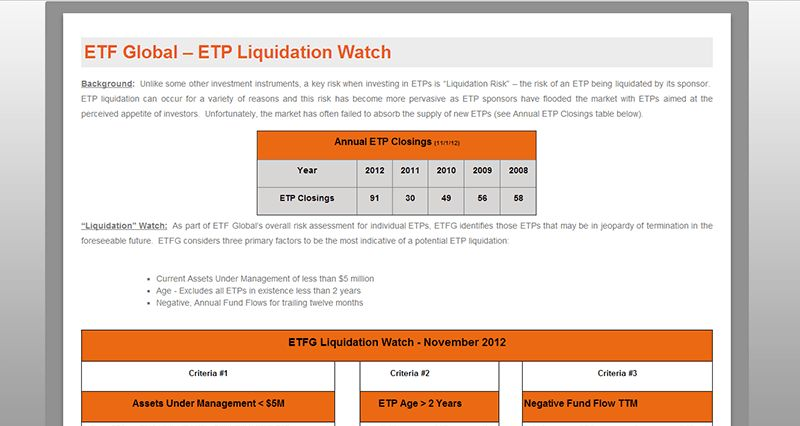 The ETF Toolkit