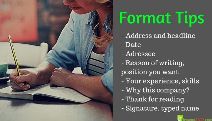 Covering Letter Format for Job Application | Resume 2018