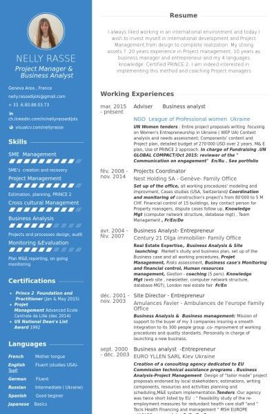 business analyst resume objective examples sample resume of