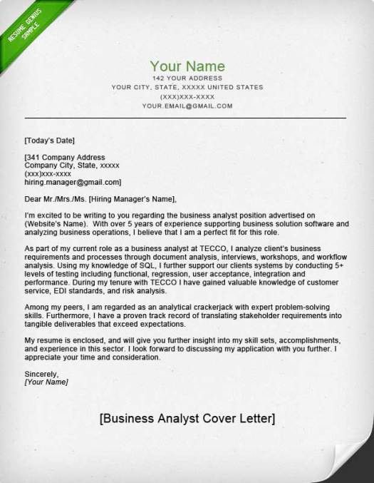 Peoplesoft Business Yst Cover Letter | Peoplesoft Business Analyst Cover Letter