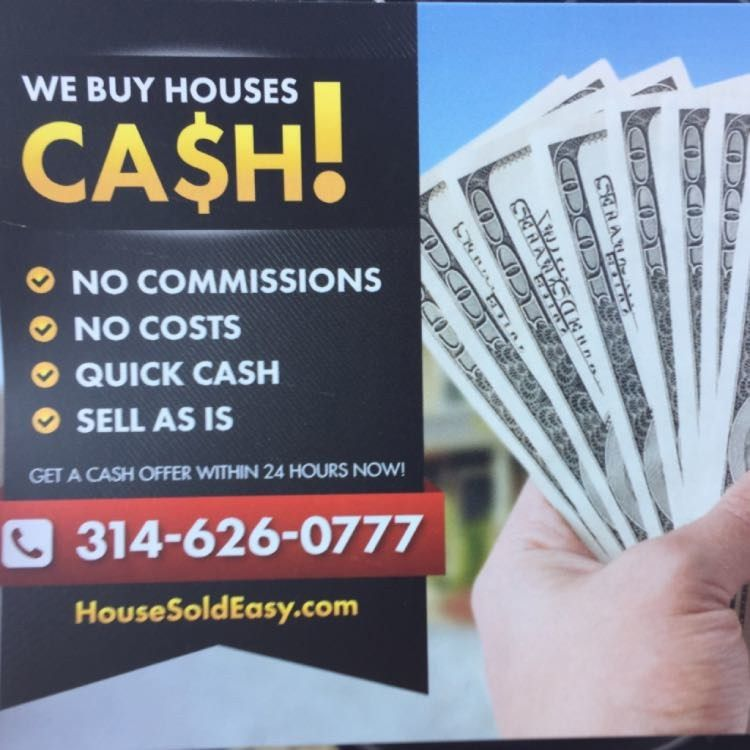 Sell My House Fast For Cash! - House Sold Easy St. Louis