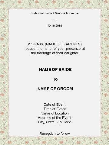 invitation format | fadil_fp | Flickr