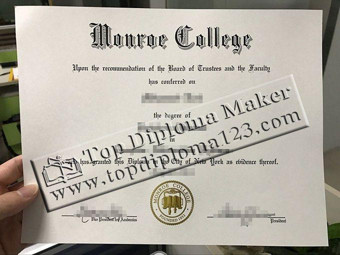 Buy a monroe college diploma for getting job, buy monroe college ...