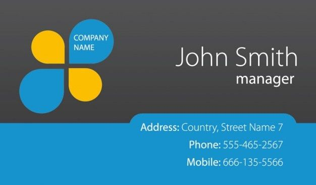 Business Card Template Free Download | business letter template