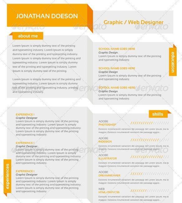Cool Free Resume Templates