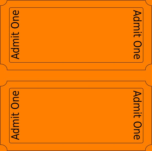 5+ free ticket templates | Outline Templates