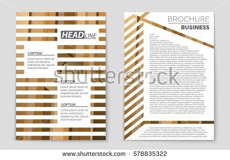 Abstract Vector Layout Background Set Art Stock Vector 667368964 ...