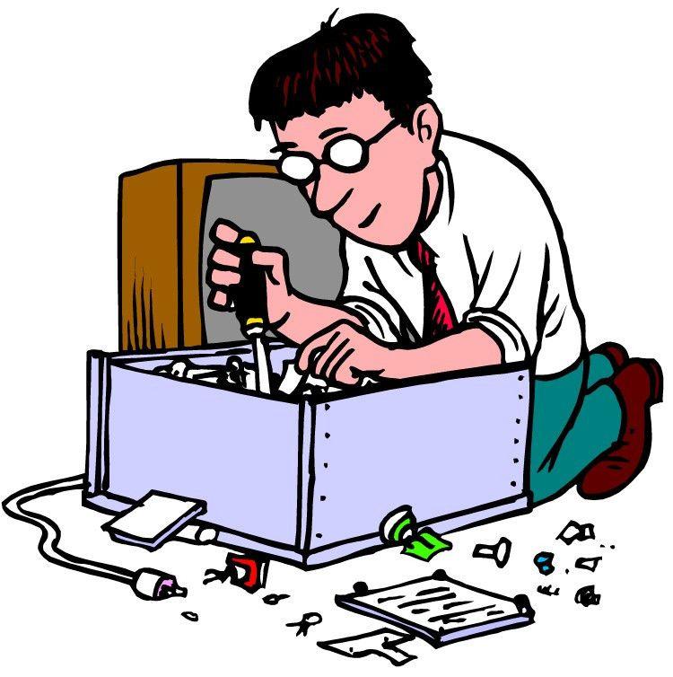 Electronics Technician Clipart (5+)