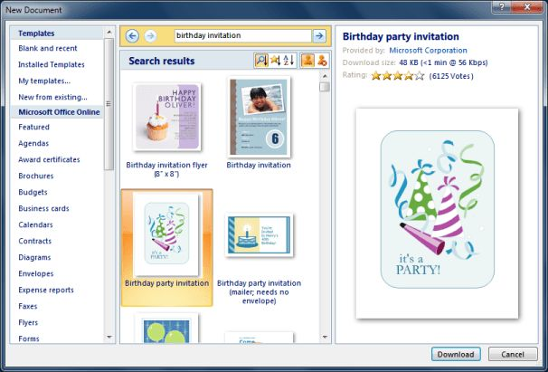 Personalized Invitations using Word and Excel | CogniView