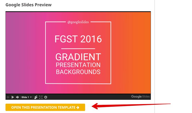 Making the Most of Google Slides with FGST