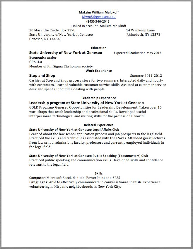 Grocery Resume samples - RESUMEDOC