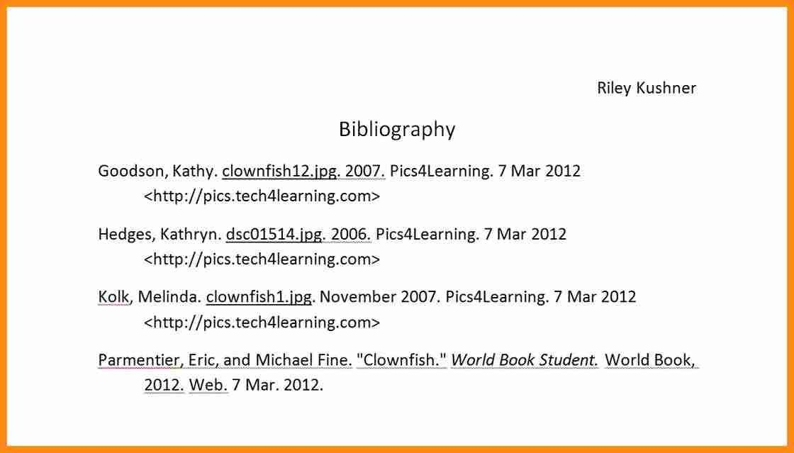 10+ bibliography example in mla format | action plan template