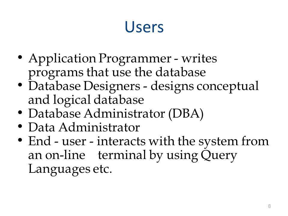 ITEC313 Database Programming - ppt download
