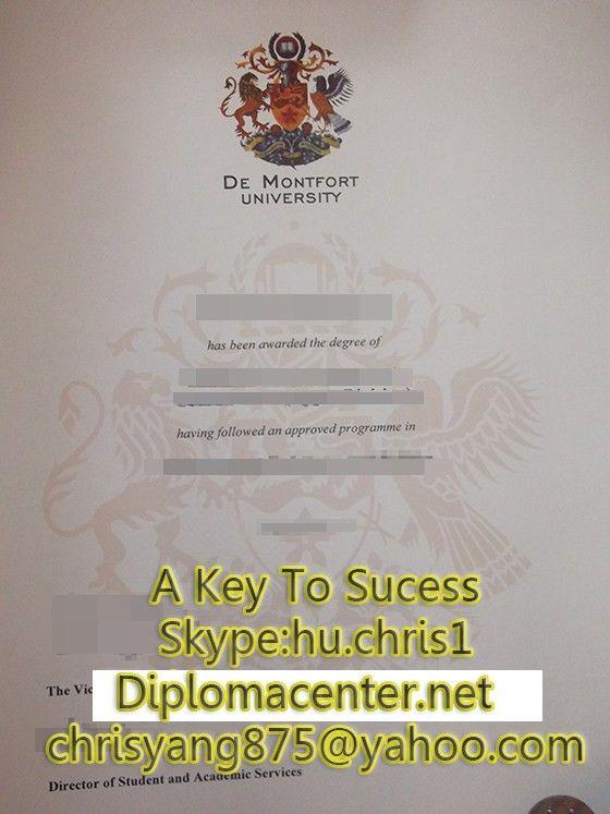 Buy De Montfort University bachelor degree, fake diploma_buy a ...