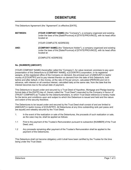 Indemnity for Directors Short Form - Template & Sample Form ...