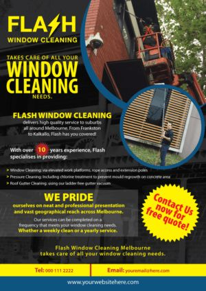 48 Modern Professional Window Cleaning Signage Designs for a ...
