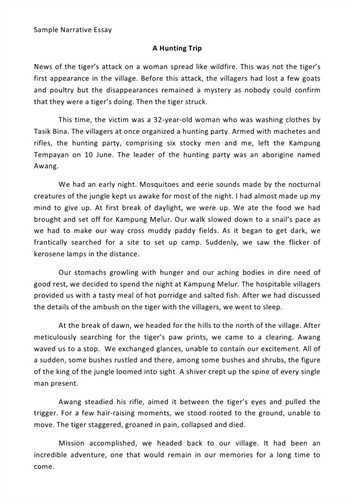 essay sample narrative sample essay sample why this college essay ...