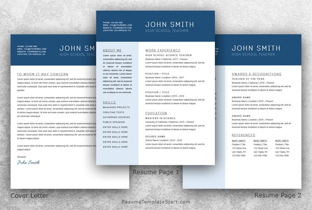 chronological resume template microsoft word ...
